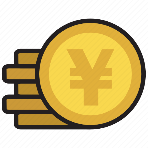 cash, coin, currency, finance, money, yen icon