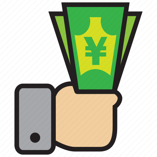 atm, bank, credit, debit, money, yen icon