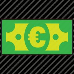 atm, bank, credit, debit, euro, money icon