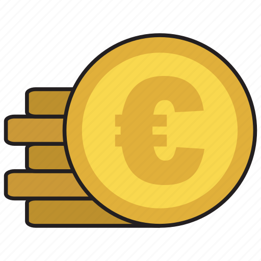 buy, cash, coin, euro, purchase icon