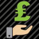 atm, bank, credit, debit, money, pound icon