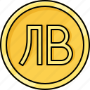 bulgaria lev, coin, currency, kazakhstan tenge, lev, money, tenge