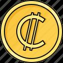 coin, colon, costa rica colon, currency, money, salvadoran colon