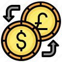 exchange, currency, money, dollar, pound, sterling
