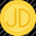 coin, currency, dinar, jordanian dinar, money