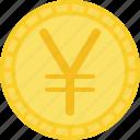 coin, currency, japan yen, money, yen, yuan