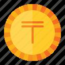 currency, coin, money, finance, kazakhstan, tenge
