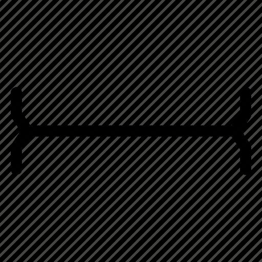 cursor, edit, horizontal, text icon