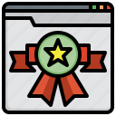 top, rated, business, finance, ranking, badge, marketing
