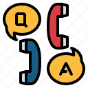 answer, faq, info, information, question icon