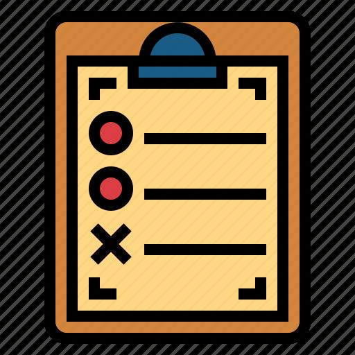 checking, communications, list, tasks, verification icon