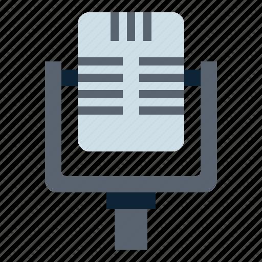 microphone, radio, recording, sound, voice icon