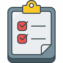 check, checklist, document, done, list, paper icon