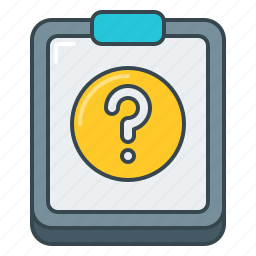 details, document, faq, frequently asked questions, help, question icon