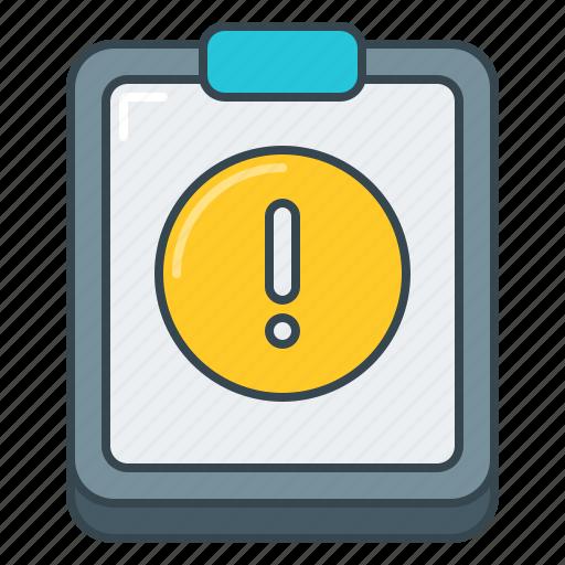alert, details, error, info, issue, notice, warning icon