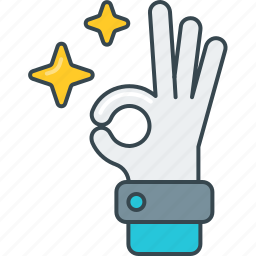 body language, gesture, hand, ok, okay, sign icon