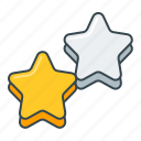 favorite, favourite, star, stars icon