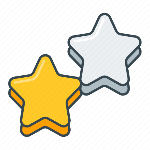 favorite, favourite, star, stars icon