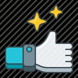 gesture, hand, like, ok, thumbs, up icon