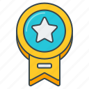 award, badge, label, rated, star, top icon