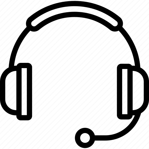 assistance, headphones, headset, phone, support icon