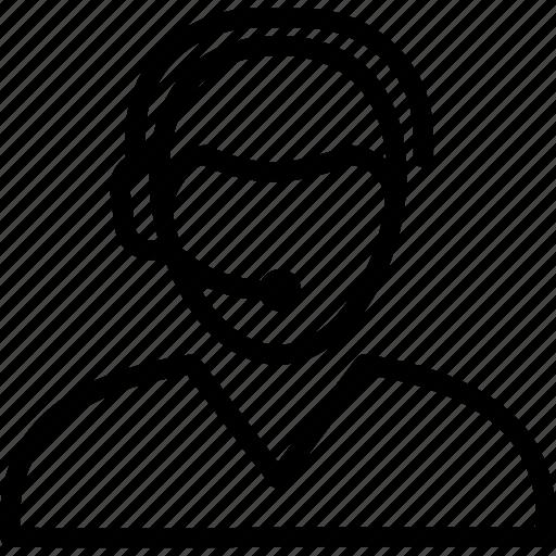client, customer, representative, service, support icon