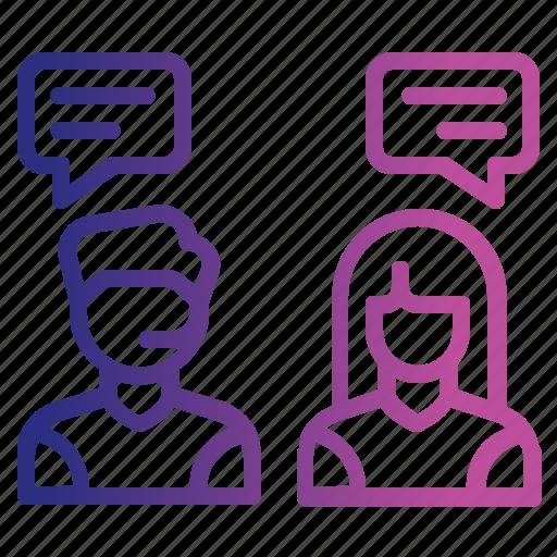 communication, conversation, customer, help, service, support, talk icon