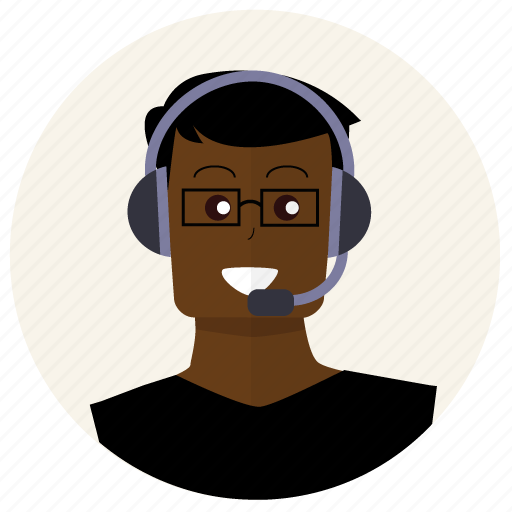client, customer service, headphones, people, person, support, user icon