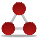 network, nodes icon
