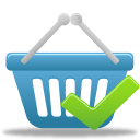 accept, basket, shopping