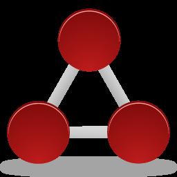 network, nodes icon