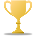 award, gold, trophy icon