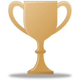 award, bronze, trophy icon