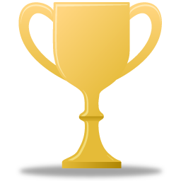 award, gold, trophy icon