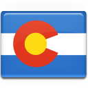 colorado, flag icon