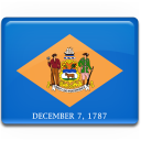 delaware, flag icon