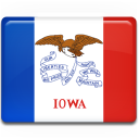 flag, iowa icon