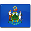 flag, maine icon