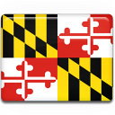 flag, maryland icon