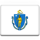 flag, massachusetts icon