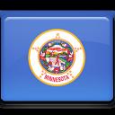 minnesota, flag icon