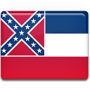 flag, mississippi icon