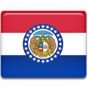 flag, missouri icon