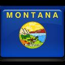 flag, montana icon