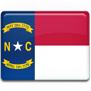 north, carolina, flag