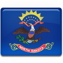 north, dakota, flag