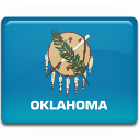 flag, oklahoma icon