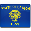 flag, oregon icon