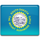 dakota, flag, south icon