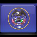 flag, utah icon